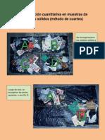 Determinación cuantitativa en muestras de residuos sólidos