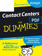 Comtec-Avaya-Contact Centres for Dummies