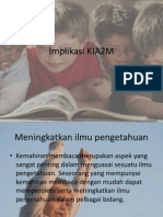 Implikasi KIA2m edu 3106