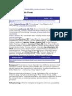 eMedicine - Acute Rheumatic Fever Article by Robert J Mead