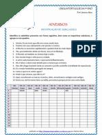 Adverbios -Exerc. Identificacao Subclasses (Blog9 10-11)