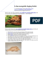 Cara Memilih Dan Mengolah Daging Bebek