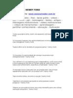 Frases de Henry Ford - Www.vocevencedor.com .Br - Mensagem Motivacional