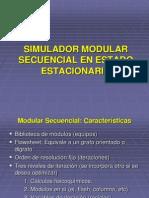 Unidad II- Sim.modular Secuencial