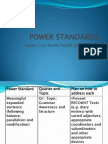 Power Standards for Grade 8 English