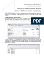 Entorno Windows - Procesador de Textos