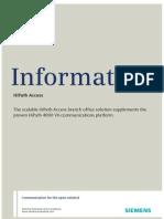 HiPath Access DataSheet