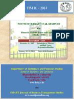 International Seminar 2014