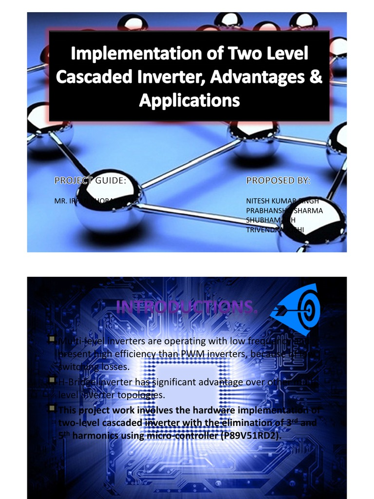 Implementation Of Two Level Cascaded Inverter-Complete Project pdf