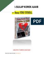 Rahasia Trik Sulap Bahasa Indonesia