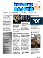 May 2013 District Newsletter