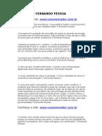 Frases de Fernando Pessoa - Www.vocevencedor.com .Br - Mensagem Motivacional