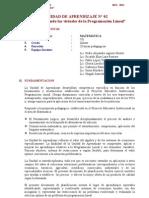 Modelo Unidad de Aprendizaje 2013.