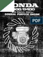Honda G300_400