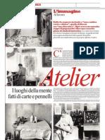 Atelier. I Luoghi Del Pensiero e Della Creazione - La Repubblica 12.05.2013