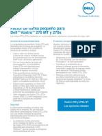DELL Vostro 270 270s Customer Brochure 06052013