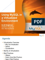Mysql Virtualization Guide Notes