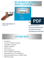 Secure Mobile Based Voting System
