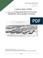 Utah's Industry Shift in WWII