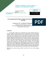 Pvg Based Smart Energy Modelling for Agricultural Sector
