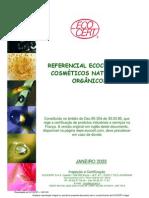 REFERENCIAL ECOCERT PARA  COSMÉTICOS NATURAIS E ORGÂNICOS