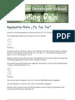 Application Kata Tic Tac Toe