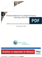 Technical Education in Sedgwick County - Charting a New Course