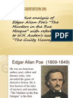 Narrative analysis of Edgar Allan Poe's stories