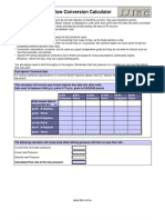 Injectors Calc Flow Data
