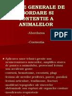 47978759 Norme Generale de Abordare Si Contentie a Animalelor