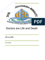 Doctors Are Life and Death