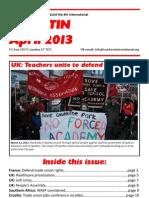 Bulletin April 20131
