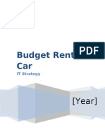 Budget Rent a Car - Strategy