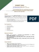 Gurmeet Resume 2013
