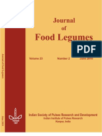 Journal of Food Legumes