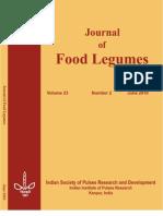 Journal of Food Legumes