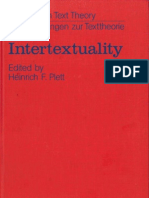 PLETT Heinrich. Intertextuality