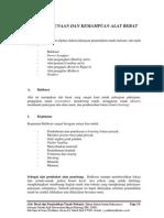 Alat Berat Dan Pemindahan Tanah Mekanis - Bab III Penggunaan & Kemampuan Alat
