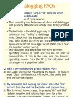 Datalogging FAQ