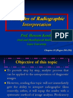 Principles of Radiographic Interpretation L8