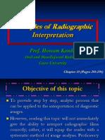 Principles of Radiographic Interpretation L8