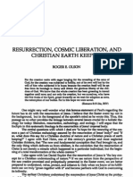 123. Res., Cosmic Liberation and Christian Earth Keeping