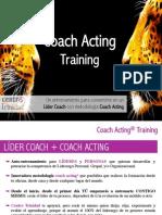 Hoy más que nunca, reinventarse es necesario. Líder Coach + Coach Acting.