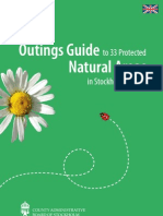 The Outings Guide to 33 protected natural areas in Stockholm County