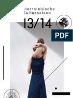 Programmbuch Österreichische Kultursaison in Russland 2013/14