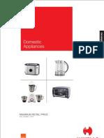 Appliance MRP February 2013