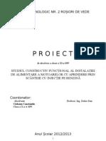 Proiect Ciobanu - Injectia Pe Benzina