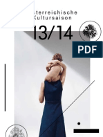 Программа Австрийского Культурного Сезона в России 2013/14