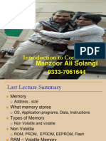 Computer Memory By