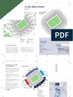 Allianzarena Stadion Plan